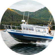 Luxury Fishing Boats in Haida Gwaii